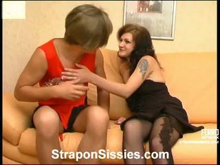 crossdress, kuuma strapon sex, lisää young girl in action nähdä