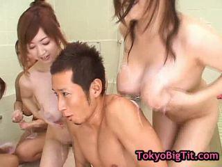 jāšanās, groupsex, japānas
