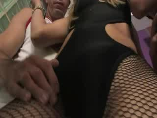 Sexy Tgirl idol loving in Three Some