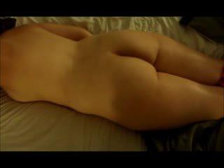 brunete, apaļš, orgasmu