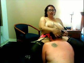 Xấu xí chất béo con điếm webcam
