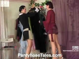 Collants tales scènes avec kathleen, rosa, govard