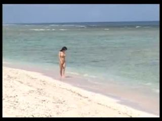 海灘, 辣妹, 亞洲人