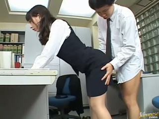 Gang bang Asian porn