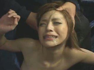 japanese, facial, gangbang