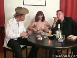 reality, group sex, granny