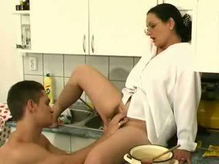 Big-Tits On Hairy Milf