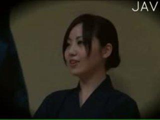 japonais, voyeur, massage