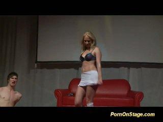 blondīnes, striptīzs, deja