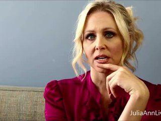 Slecht leraar milf julia ann shows u hoe naar krijgen extra credit!