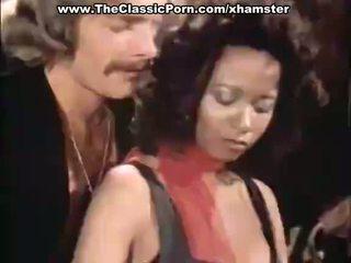 Trio porno video- met vintage porno sterren