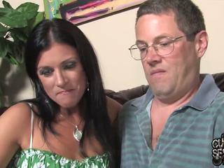 Mari watches pair oustanding noir zonkers bump son femme en ce cocu band penetrate