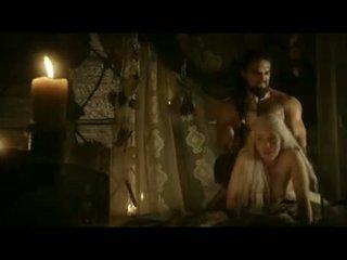 Emilia clarke doggy stil kön scen