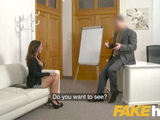 Fake agent spunk loving tattooed 西班牙人 孩兒 claudia bavel 在 性別 鑄件