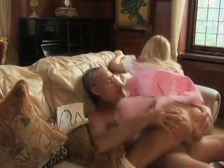 Busty alice takes cock from an older man