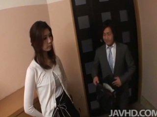 japonijos, moteriška draugiškas, blowjob