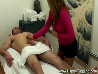 Masseuse likes to eat clients dong