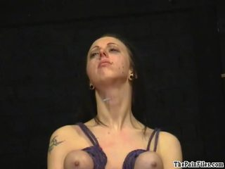 Piercing Torture And Breast Hanging Sa...