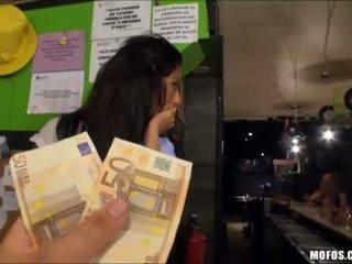 คนเสปน beauty ผู้หญิงสวย สาธารณะ เพศสัมพันธ์ สำหรับ เงินสด