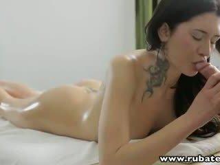 RubATeen 18 year old Russian babe Gerta massage anal sex
