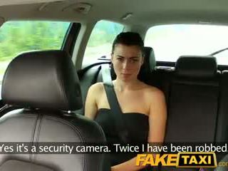 FakeTaxi Innocent girl takes on a huge cock