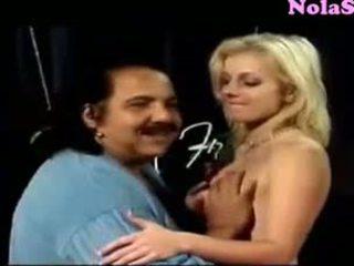 Ron Jeremy Fucks Squirting Angela