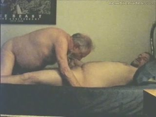 Eyang kakung has fun with grandson