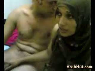 Amatoriale arabic coppia getting esso su