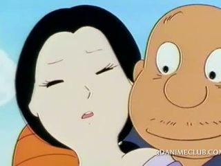 Rijpere anime aziatisch geneukt openlucht door haar geil guy