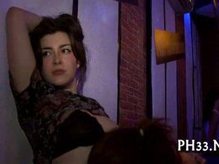 Gangbang dzikie patty w noc klub