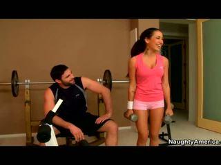 Amia miley banged w the siłownia