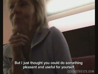 Ceko streets - jitka mengisap penis video