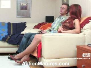 Alana y tobias marvelous mamá onto vídeo acción