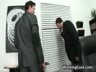Seth roberts fucking và sự nịnh hót trên văn phòng 3 qua workingcock