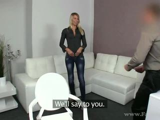Geil blondine lenka fake porno auditie