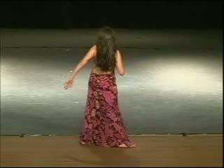 Dina dancer egyptisk arabic