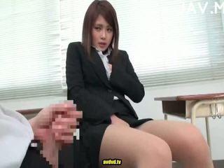 brunette, japanse, cumshot