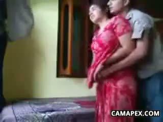 Kåt indisk par knulling