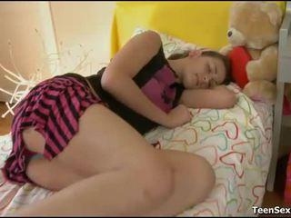 bedroom sex, sleeping, sleeping porn, sleeping porn videos, sleeping sex, sleeping teen fuck