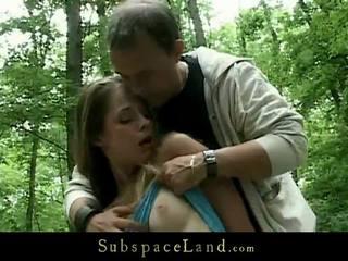 Ekscentriskas dominēšana uz the woods par a laba bondman