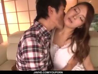Nana ninomiya, hot bojo, amazes hubby with full porno