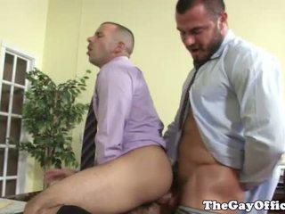 Homo kantoor jock getting bips geneukt