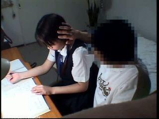 Iskola tanuló lány szexuális obszcén színhely