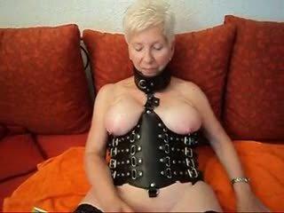Amateur German granny fuck