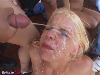 cumshots, group sex, orgy