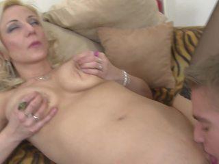 Real Mature Mother Pleasing Teen Boy, HD Porn e1