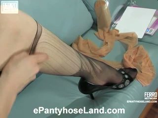 Meggy In Pantyhose Movie