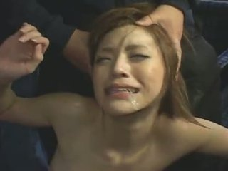 japansk, ansikts-, gang