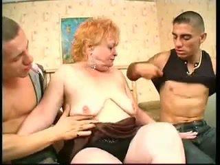 grannies, threesomes, vjetër + rinj