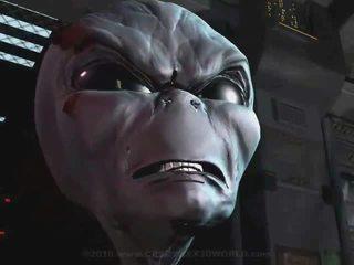 3d animatie buitenaards abduction 1